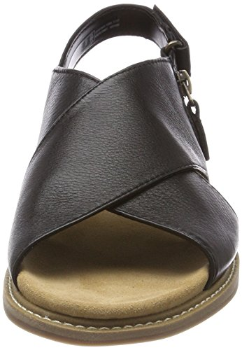 classic clearance fake Clarks Women's Corsio Calm Sling Back Sandals Black (Black Leather) cheap buy authentic latest collections for sale WGfrlw