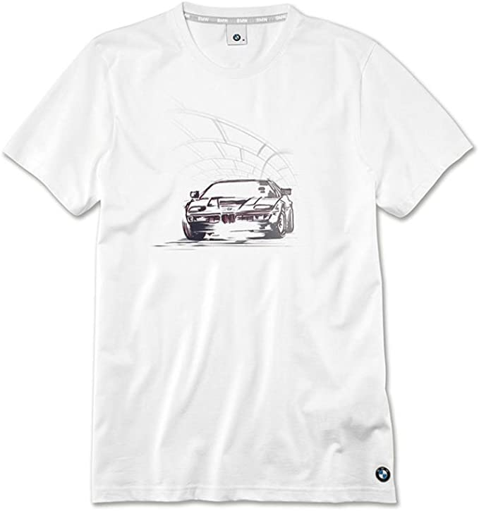 BMW Genuine Mens Main Collection Short Sleeves Casual T-Shirt Graphic