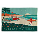 Deny Designs Anderson Design Group Surfs Up Woven Rug, 4 by 6-Feet