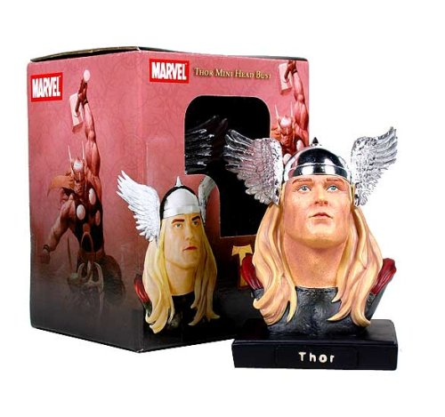 Alex Ross Thor Head Mini-Bust by Marvel Marvel Select