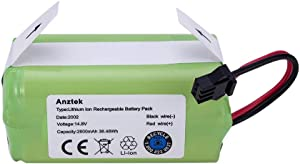 Anztek Replacement Ecovacs N79S Battery, Compatible with Ecovacs Deebot N79S, 500, N79 Robot Vacuum, 14.8V 2600mah