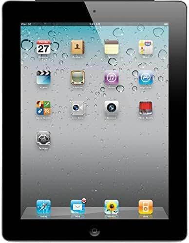 Apple iPad 3 Retina Display Tablet 64GB, Wi-Fi, Black (Certified Refurbished)