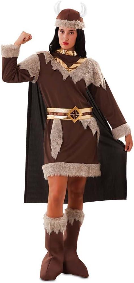 Disfraz de Vikinga para Mujer: Amazon.es: Juguetes y juegos