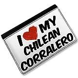 RFID Passport Holder I Love my Chilean Corralero, Horse, Cover Case / Wallet -