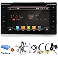 YUNTX - 2 din Android 6.0 in dash navigation car dvd player for Toyota Corolla 2016 2017 Quad Core 8 inch 1024600 screen car stereo double din