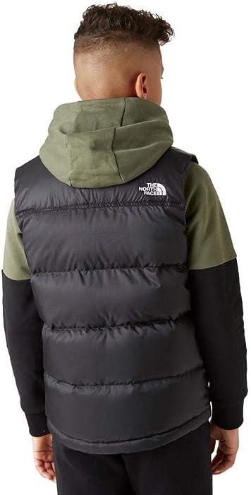 dfcb0f632 THE NORTH FACE B Nuptse Down Vest TNF Blk Textured Camo PRT L (Kids ...