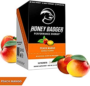 Sweepstakes: Honey Badger Natural Keto Pre Workout for…