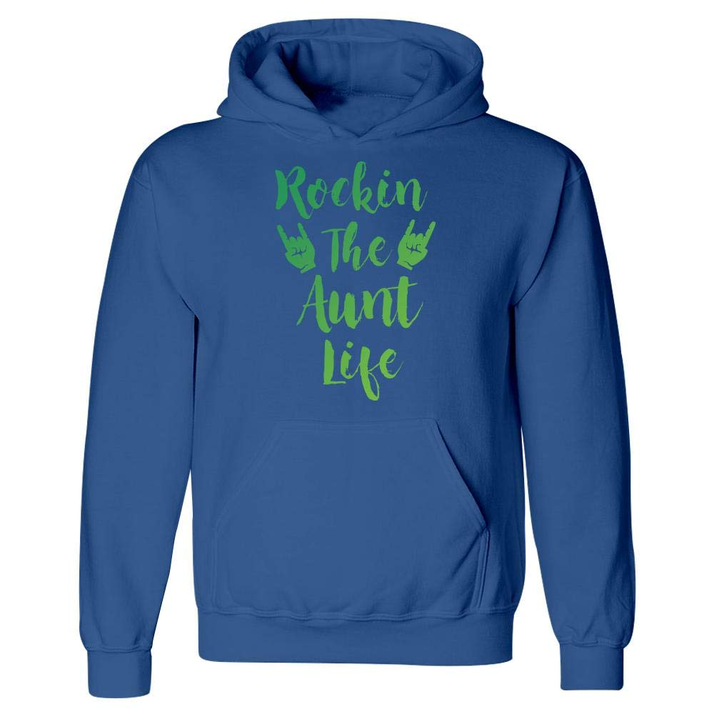 Hoodie Rockin The Aunt Life Cool Creative Design