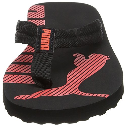 Adulto Black Coral hot V2 Chanclas Puma Unisex Flip Epic Negro 7XnqaUn0