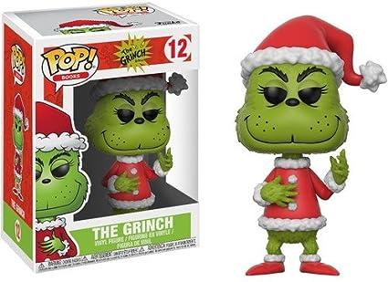 adf7da1bc03 Amazon.com  Funko Pop Books Santa Grinch Collectible Vinyl Figure ...
