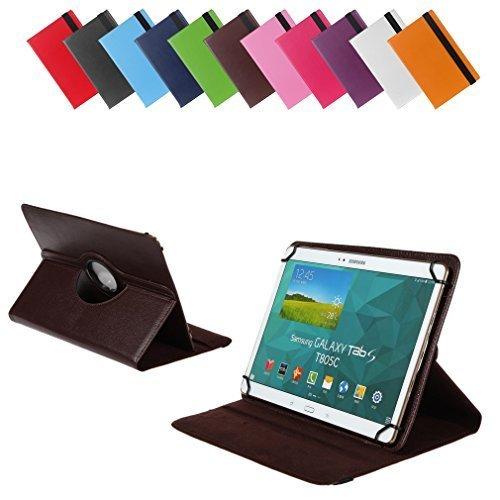 Bralexx Universal Tablet-Tasche für Lenovo Miix 3-1030 80HV0013GE 10.1 (26,3 cm (10 Zoll)) braun