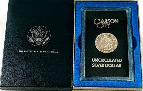 1883 CC Carson City Morgan Silver Dollar GSA $1 Uncirculated US Mint