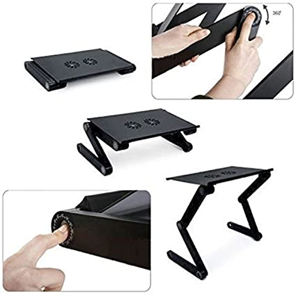 SahiBUY Laptop_Table_T8 Multifunctional Laptop Table With Cooling Fan