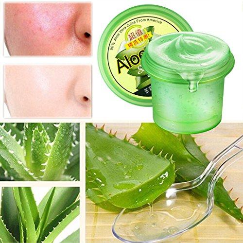 Hatop Aloe Vera Gel, Apply to Face, Hands & Body, Powerful Moisturizing, Soothing, Antioxidant & Antibacterial - Great for Dry Skin, Acne, etc (Gel Antibacterial Hand Moisturizing)