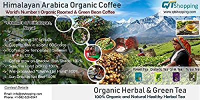 Himalayan Arabica Green Beans Coffee - World's Best Organic Coffee   Product of Himalayas, Nepal