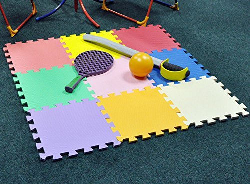 King Fisher PLAYM Multi-Colour Play Mat Set (9-Piece)