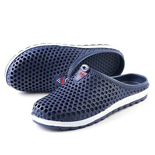 Lightweight Shoes FZDX BLUE Slippers Sandals Shoes Quick Unisex 162 Dry Summer Garden Water 6nxwv01ngf