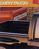 454ss silverado - 1990 Chevrolet Pickup Truck 46-page Sales Brochure Catalog 454SS Silverado Crew