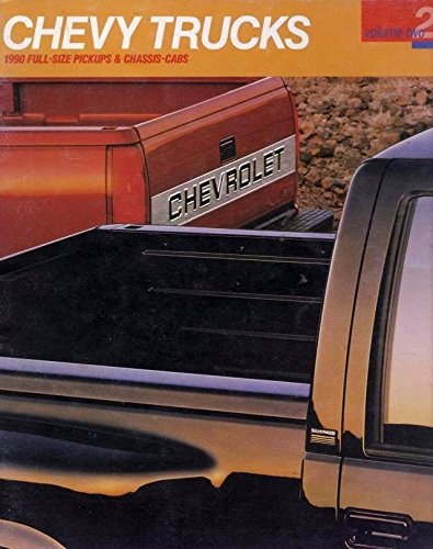 454ss Pickup (1990 Chevrolet Pickup Truck 46-page Sales Brochure Catalog 454SS Silverado Crew)