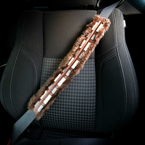 Star Wars Chewbelta Chewbacca Car Seatbelt Shoulder Cover Pad -