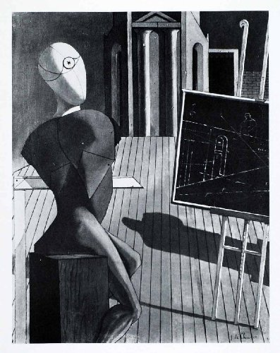 1941-print-seer-figure-chalkboard-column-surrealism-giorgio-de-chirico-art-floor-original-halftone-p