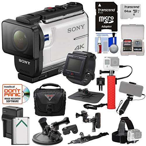 Sony Action Cam FDR-X3000R Wi-Fi GPS 4K HD...