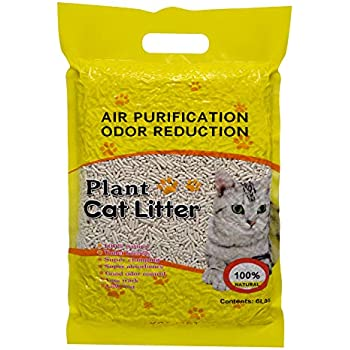 YCSJPET Tofu Cat Litter Fast-Clumping Multi-Cat Litter Flushable Litter Unscented and No Dust Pellets