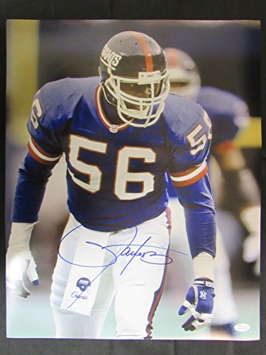 Lawrence Taylor Signed Auto Autograph 16x20 Photo JSA II (Signed Taylor Autograph)