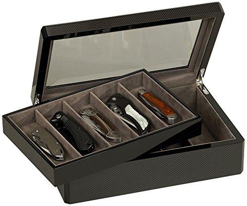 Venlo Carbon Fiber Collection 10 Knife Case by Venlo