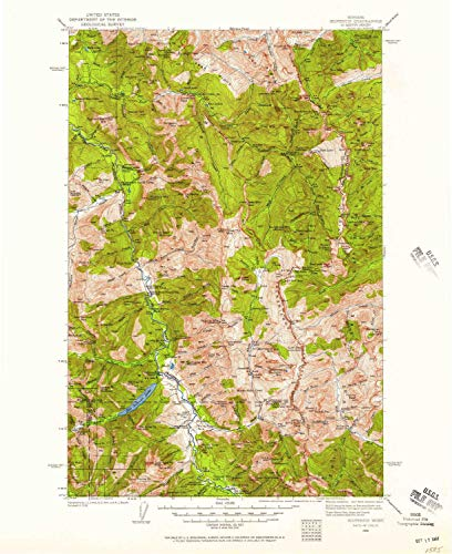 MT topo map, 1:125000 Scale, 30 X 30 Minute, Historical, 1936, Updated 1957, 20.8 x 17 in - Paper ()