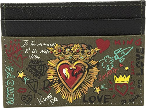 Dolce Mens amp; Heart Card Sacred amp; Black Holder Dolce Gabbana nPq6IqTA