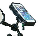 Waterproof Bike Scooter Mirror Mount Holder for iPhone 6 (4.7)