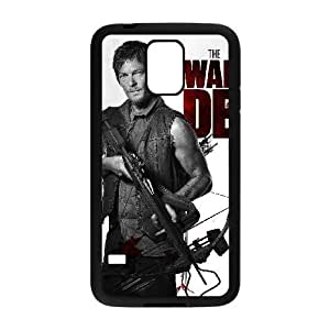 Custom Cover Case with Hard Shell Protection for SamSung Galaxy S5 I9600 case with Walking Dead lxa#288938 hjbrhga1544