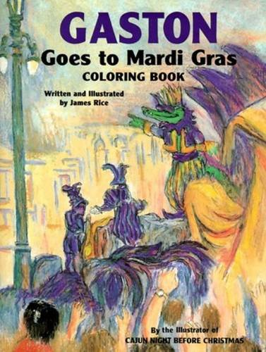 di Gras Coloring Book (Gaston® Series) (Mardi Gras Series)