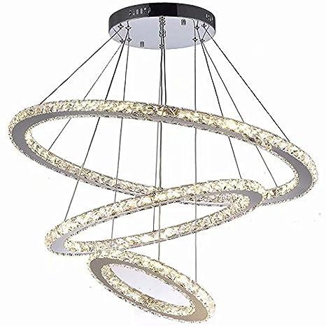 Lámparas de cristal modernas luces de techo LED accesorios ...