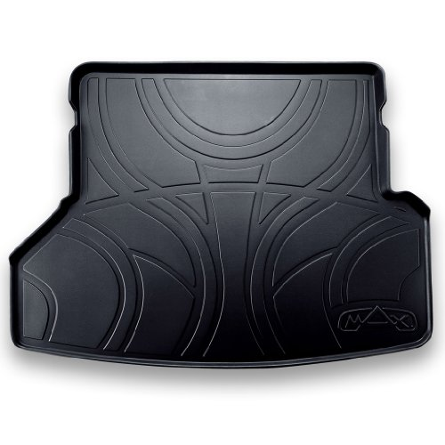 SMARTLINER All Weather Cargo Liner Floor Mat Behind 2nd Row Black for 2018 Ford Expedition (No Max Models)