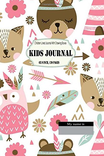 Kids Journal : Children Lined Journal With Drawing Boxes 6 x 9 inch, 120 pages: Composition Blank Book. Primary Writing Journal for Kid. Creative ... (Kid Story Board Diary) (Volume 1)
