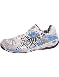 ASICS Women's GEL-BLADE 3 Indoor Court Shoes (10.5 M US, White)