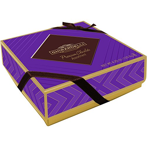 (Ghiradelli Premium Chocolate Assortment 4.25 oz Gift Boxed)