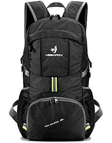 b221acfc863 NEEKFOX Lightweight Packable Travel Hiking Backpack Daypack,35L Foldable  Camping Backpack,Ultralight Outdoor Sport