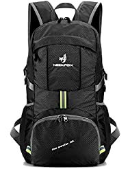 NEEKFOX Lightweight Packable Travel Hiking Backpack Daypack,35L Foldable Camping Backpack,Ultralight Outdoor Sport...