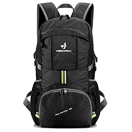 NEEKFOX Lightweight Packable Travel Hiking Backpack...