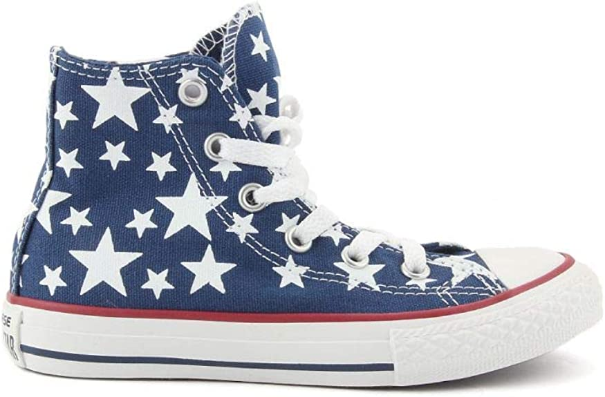 piegato Lao Credenziali  Converse 348363C Midnight Star ct Print Baby Shoes All Star hi Stars:  Amazon.co.uk: Shoes & Bags