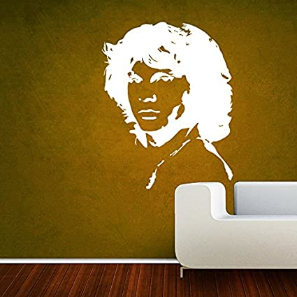 Buy Decor Kafe Home Decor Jim Morrison Wall Sticker, Wall Sticker ...