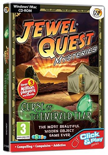 - Jewel Quest Mysteries: Curse of the Emerald Tear (PC CD/Mac)