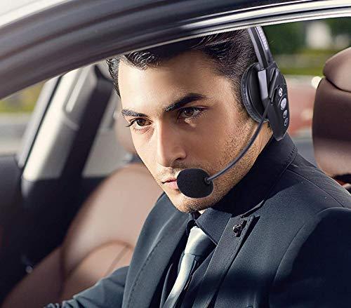 e2cc5403d7e Arama JBT800 Trucker Bluetooth Headset, Noise-Canceling Bluetooth 5.0  Headset for Truck Driver,