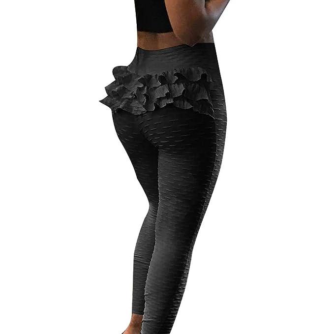 c22f0e1a00 Women's Sports Slim Fit Yoga Pants Ladies Pure Color Gym Tight Leggings  Fashion Texture Sexy Wave