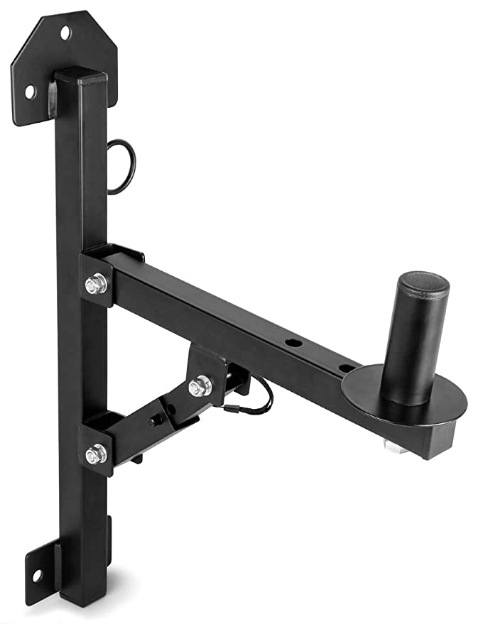 Skytec Soporte de Altavoces de Pared Carga 50kg Negro