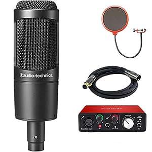 Amazon.com: Micrófono de condensador cardioide Audio ...
