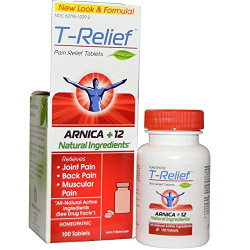 T Relief Pain Relief 100 Tablets
